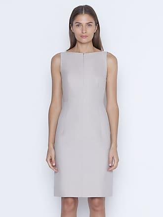 Akris Sheath dress in bi-color double-face silk cotton