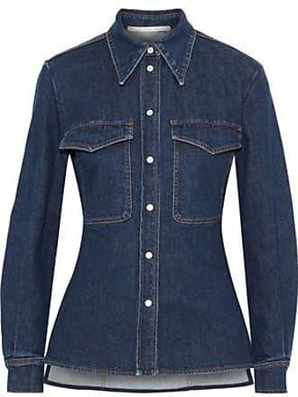 Stella McCartney Stella Mccartney Woman Denim Shirt Mid Denim Size 36
