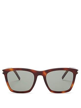f7cf6f6d2 Saint Laurent D Frame Tortoiseshell Sunglasses - Mens - Tortoiseshell