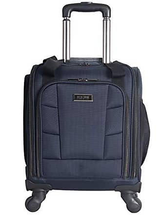 Kenneth Cole Reaction Kenneth Cole Reaction 18 Lightweight Multi-Pocket Anti-Theft RFID 14.1 Laptop & Tablet Underseater Carry-On with USB Charging Port, Navy