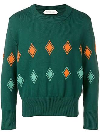 Namacheko Suéter com aplicações - Verde