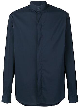 Giorgio Armani Camisa com botões - Azul