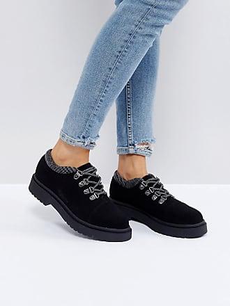 df2765da391 Asos ASOS - MARCHER - Grosses chaussures de randonnée - Noir