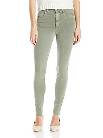 Joe's Womens Charlie High Rise Skinny Ankle Jean, Dark Moss, 24