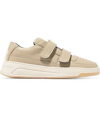 Acne Studios Steffey Leather Sneakers - Beige