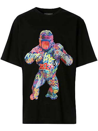 Juun.J gorilla T-shirt - Preto