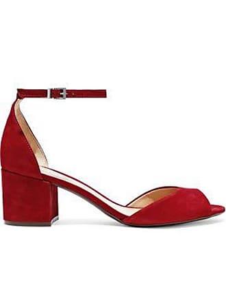 fd26e6587 Schutz Schutz Woman Roama Nubuck Sandals Claret Size 6.5