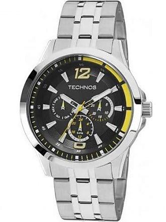Technos Relógio Masculino Technos Racer 6P29AHW1Y Prata