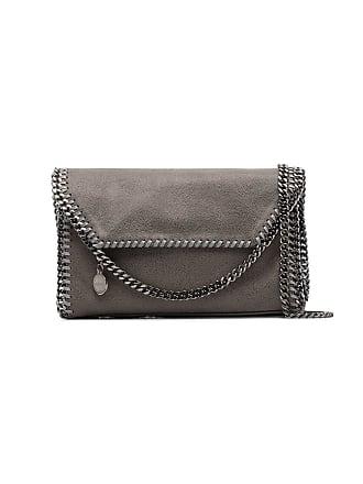 4c89feebe140 Stella McCartney grey Falabella faux leather Mini Shoulder Bag