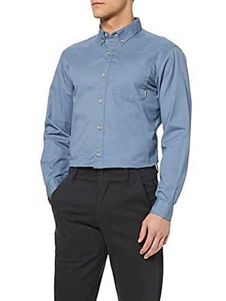 54ccffed1e778 Eddie Bauer Signature Twill-Hemd-Uni Chemise Casual, Bleu (Chambray Blau 745