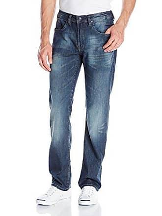 Buffalo David Bitton Mens Driven Straight-Leg Jean in Dark, Slightly Crinked, 31x34