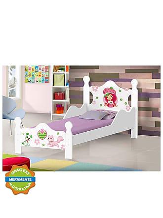 J & A Mini Cama Moranguinho Iris Branca J & A