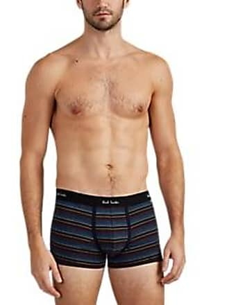 9fe7079724 Paul Smith Mens Striped Stretch-Cotton Boxer Briefs - Blue Size XL