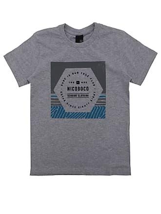 NICOBOCO Camiseta Nicoboco Menino Frontal Cinza