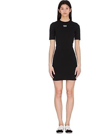 adidas Originals Tape Vocal T-Shirt Dress - Black