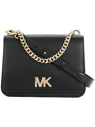 Michael Michael Kors logo plaque cross-body bag - Black