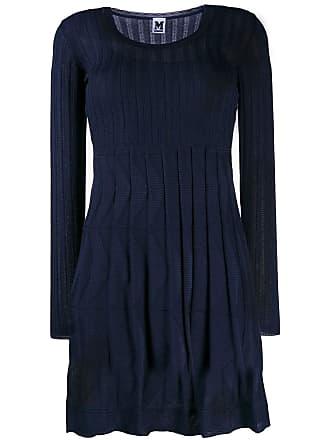 M Missoni U-neck dress - Azul