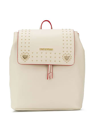 Love Moschino rounded stud backpack - Neutrals