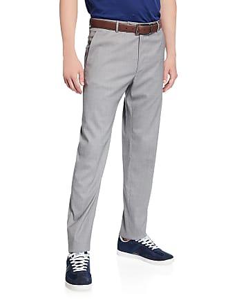 Zanella Mens Luxe Wool/Silk Pants