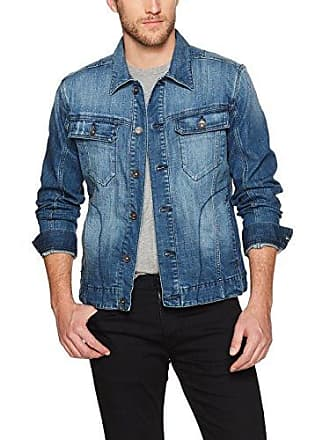 William Rast Mens Erwin Denim Jacket, Medium Indigo XX Large
