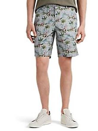 d4ad18f298 Barneys New York Mens Tropical-Flora Cotton Shorts - Blue Size 30