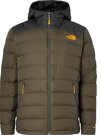 6114cc49d41a The North Face La Paz Slim-fit Quilted Nylon Hooded Down Jacket - Dark green