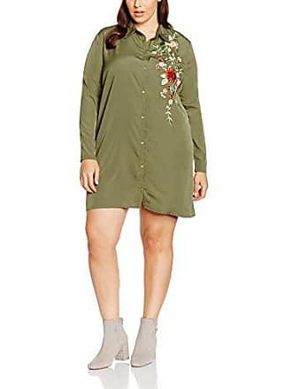 Boohoo Plus Carey Embroidered Vestito Donna 24196114add