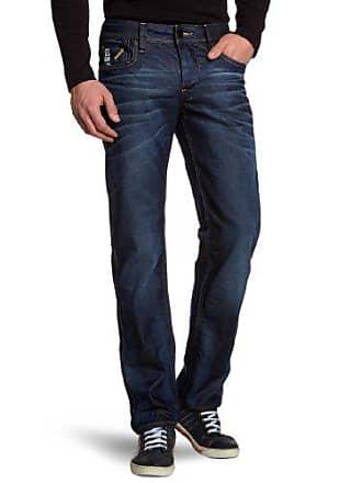 G-Star Mens Attacc Low Rise Straight Leg Jean in Dark Aged Blue, Dark Aged, 38x32