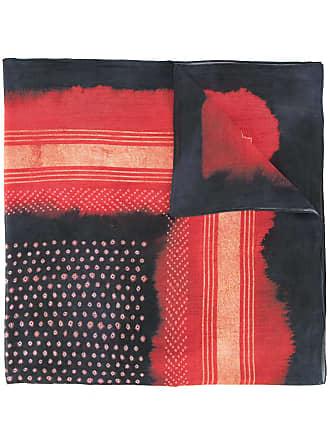 Yoshiokubo Shibori scarf - Red