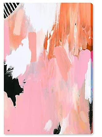 The Oliver Gal Artist Co. The Oliver Gal Artist Co. Abstract Wall Art Canvas Prints Colores de Vida Home Décor, 24 x 36, Pink, Orange