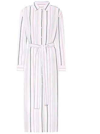 Asceno Striped cotton shirt dress