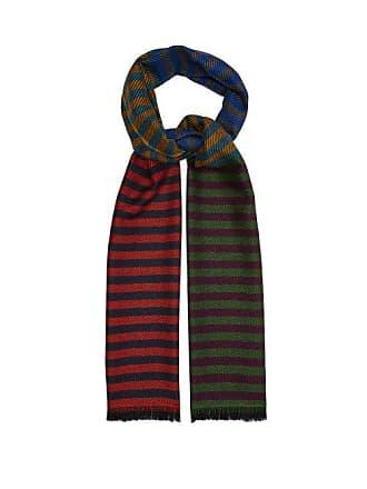 28a8b17dab9e Paul Smith Écharpe en sergé de laine à rayures colour-block