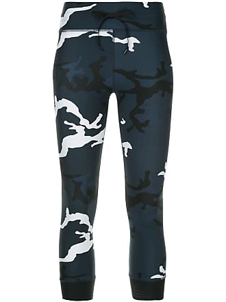 d4cdcc8a140ba The Upside cropped camouflage print leggings - Blue