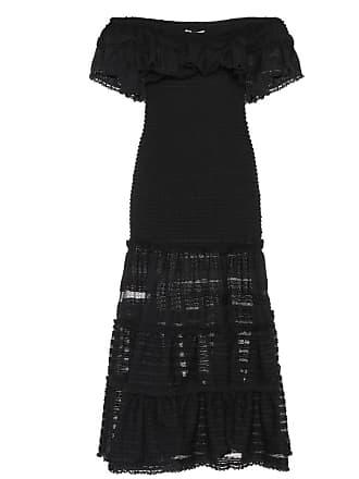 Jonathan Simkhai Off-the-shoulder knit lace dress