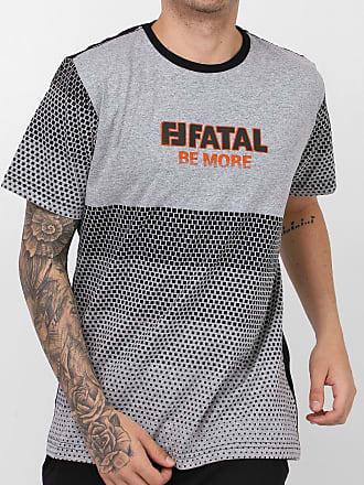 Fatal Surf Camiseta Fatal Be More Cinza