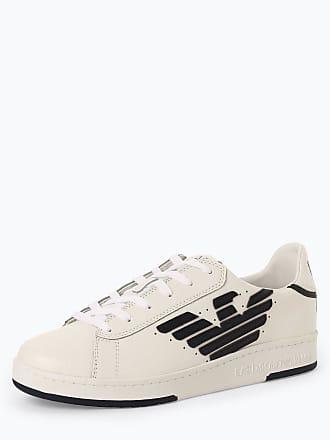 26777fe4e35295 Emporio Armani Herren Sneaker mit Leder-Anteil weiss