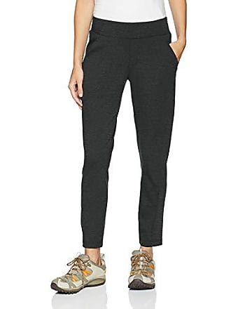 Columbia Womens Outdoor Ponte Ankle Pant, Charcoal, Large x Regular