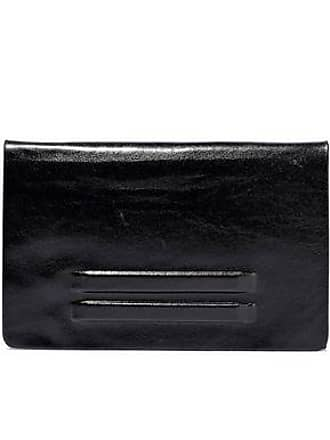 Rick Owens Rick Owens Woman Embossed Leather Wallet Black Size
