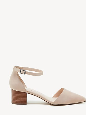 ea3b2be6b Sole Society Womens Katarina Two Piece Block Heels Pumps Light Camel Size  11 Suede From Sole