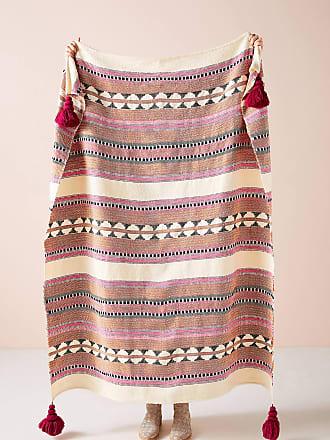 Anthropologie Woven Lakshmi Throw Blanket