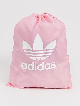 b4810164c25 adidas Originals trefoil gym sack in pink