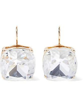 Kenneth Jay Lane Kenneth Jay Lane Woman Gold-tone Crystal Earrings Gold Size