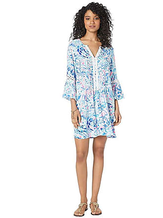 cb075cc836d Lilly Pulitzer Hollie Tunic Dress (Breakwater Tint Party Wave) Womens Dress