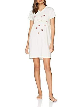 c2384c9f3 Esprit Kaia Cas Nw Homedress, Chemise De Nuit Femme, Blanc (Off White 110