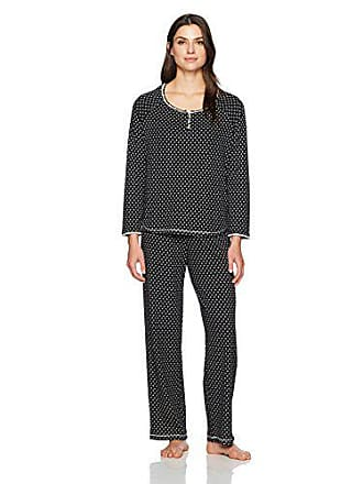 03a83e1a5eeb Karen Neuburger Womens Standard Geisha Long Sleeve Pullover Pj