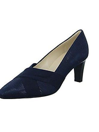 accd690e68b54b Peter Kaiser Damen Pumps Slipper Halbschuh eleganter Boden Malana 68729-294  blau 244672
