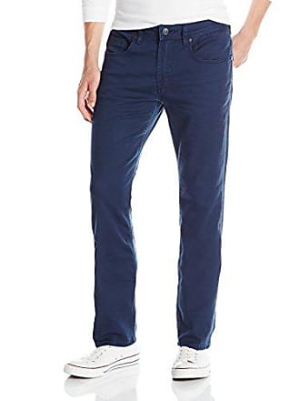 Buffalo David Bitton Mens Six Slim Straight Jean, deep Navy, 38 x 30
