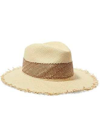 Rag & Bone Frayed Straw Panama Hat - Beige