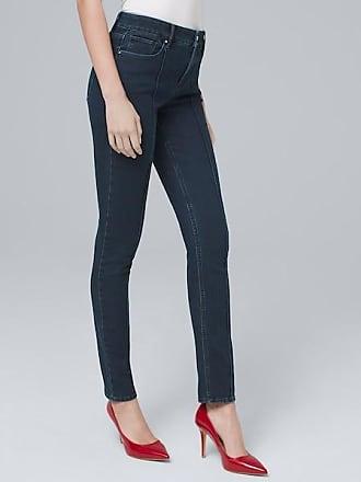White House Black Market Womens High-Rise Sculpt Fit Slim Ankle Jeans by White House Black Market, Medium Wash, Size 00 - Regular