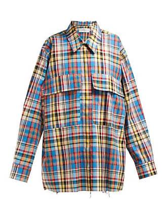 39068935f0961c Marques Almeida Marquesalmeida - Oversized Checked Poplin Shirt - Womens -  Multi